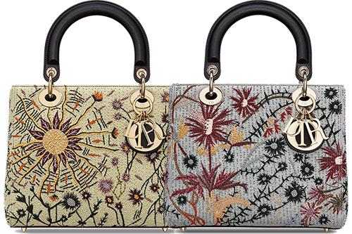 Lady Dior Jardin Au Crepuscule Bag thumb