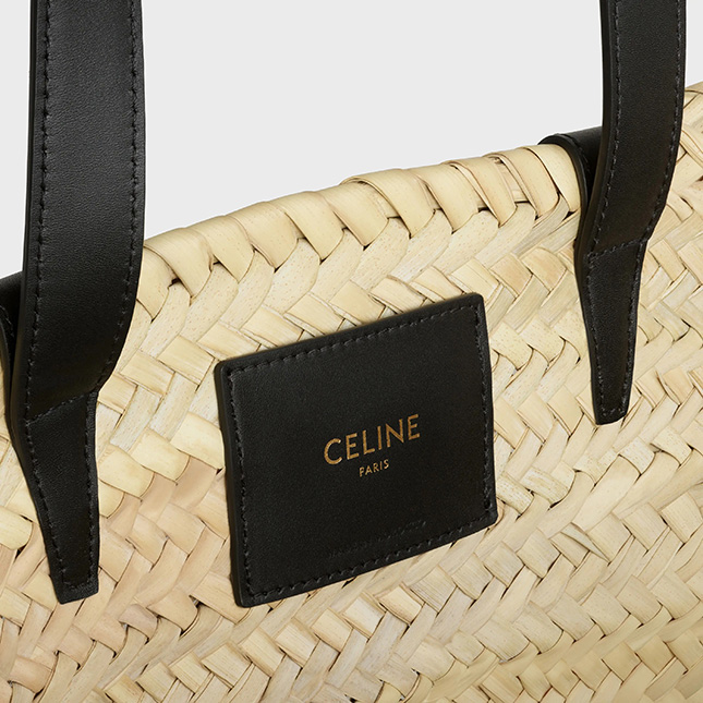 Celine Classic Panier Raffia Bag