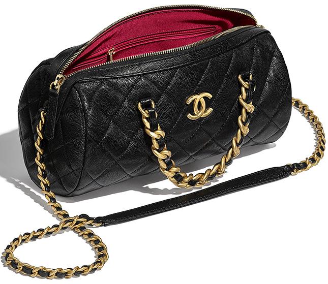 Chanel Mini Bowling Bag