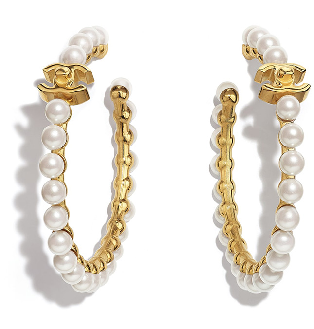 Chanel Pre Fall Earring Collection