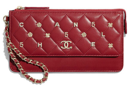 Chanel Wallet With Handle With Symbolic Charm thumb