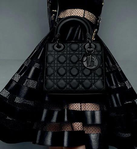 Lady Dior Ultra Matte My ABCDior Bag