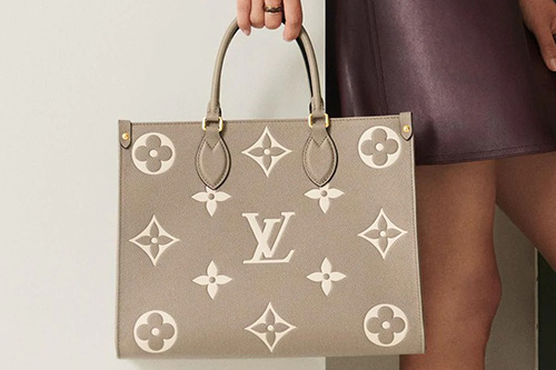 Louis Vuitton On The Go Monogram Embossed Into Leather Bag thumb