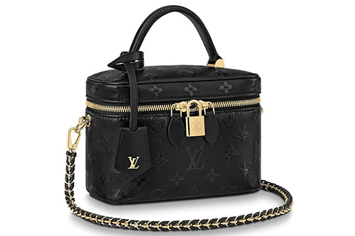 Louis Vuitton Vanity Braided Leather Chain Bag thumb