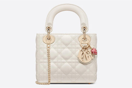 Two Favorite Lady DiorAmour Bag With Love Charms thumb