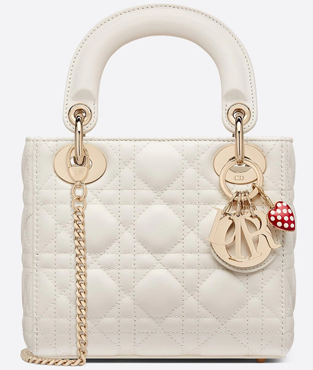Two Favorite Lady DiorAmour Bag With Love Charms