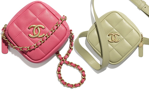 Chanel Diamond Small Leather Goods Collection thumb