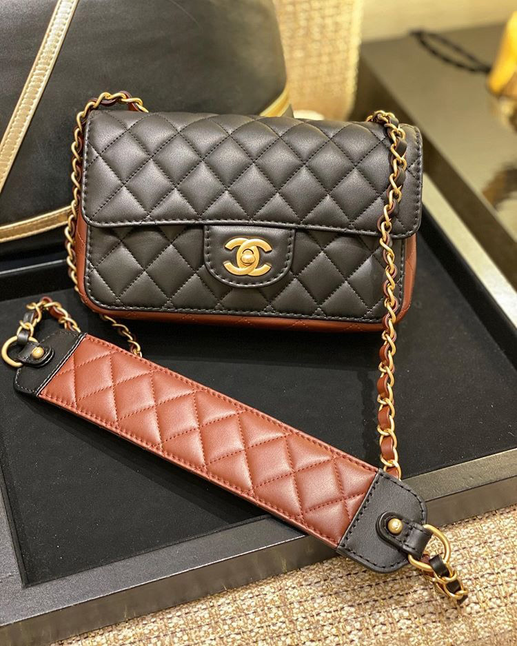 Chanel Strap Into Bag