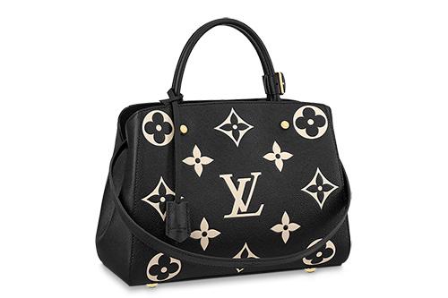 Louis Vuitton Monogram Empreinte Flower Montaigne Bag thumb