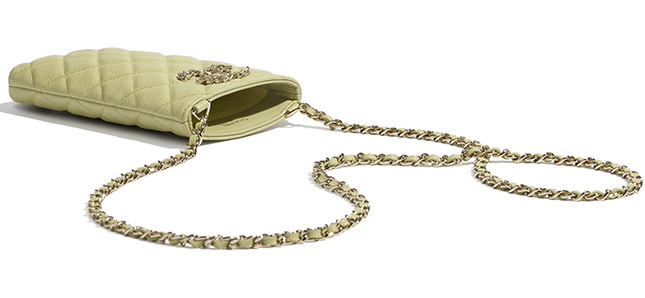 Chanel Phone holder with Chain