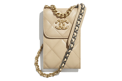 Chanel Phone holder with Chain thumb
