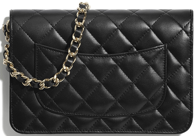 Chanel Classic Charm Wallet On Chain