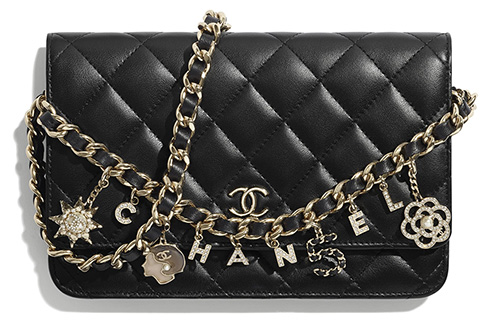 Chanel Classic Charm Wallet On Chain thumb