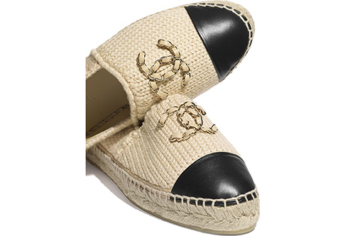Chanel Knitted Wood Espadrilles thumb