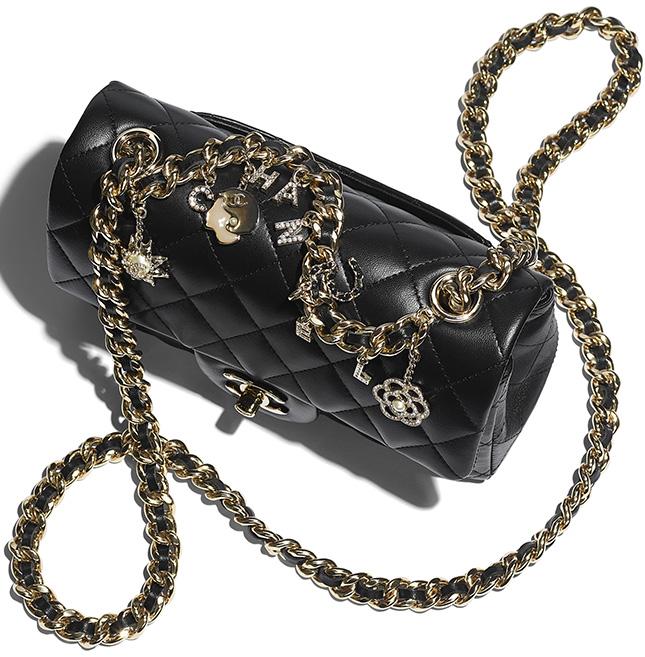 Chanel Multi Charm Classic Bag