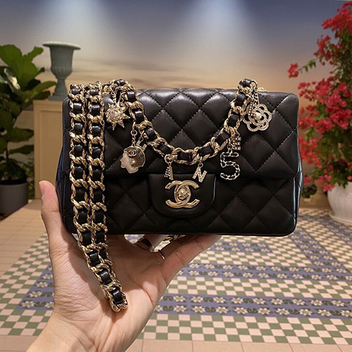 Chanel Multi Charm Classic Bag thumb