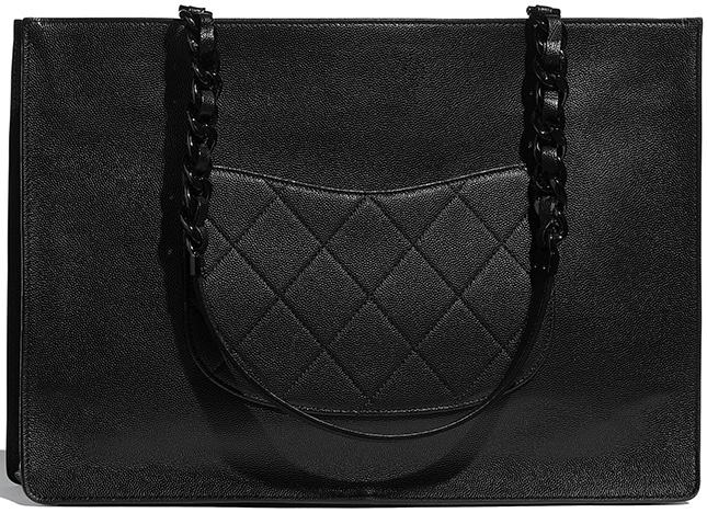 Chanel So Black Large Shopping Bag