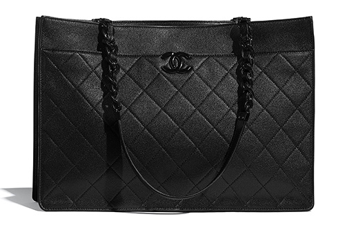 Chanel So Black Large Shopping Bag thumb