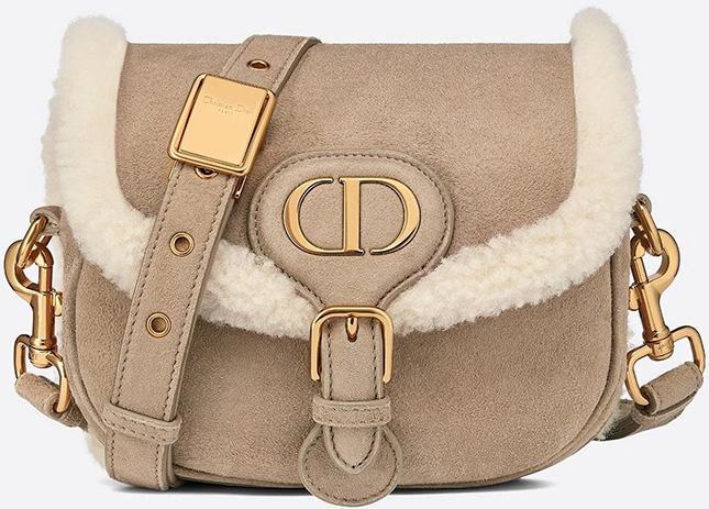 Dior Shearling Bobby Bag