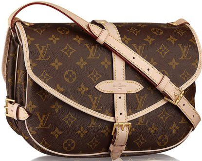 Louis Vuitton Saumur Bag Retro