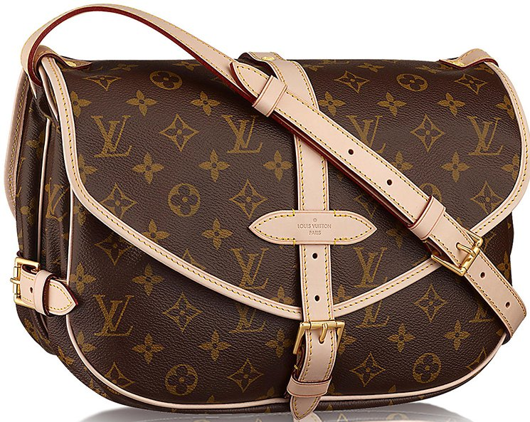 Louis Vuitton Saumur Bag Retro