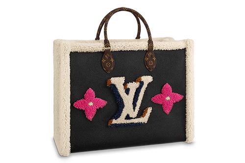 Louis Vuitton Shearling Monogram Bag Collection thumb