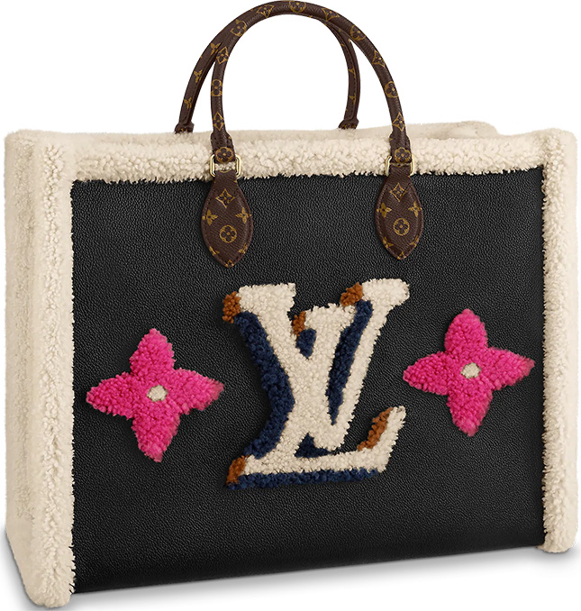 Louis Vuitton Shearling Monogram Bag Collection