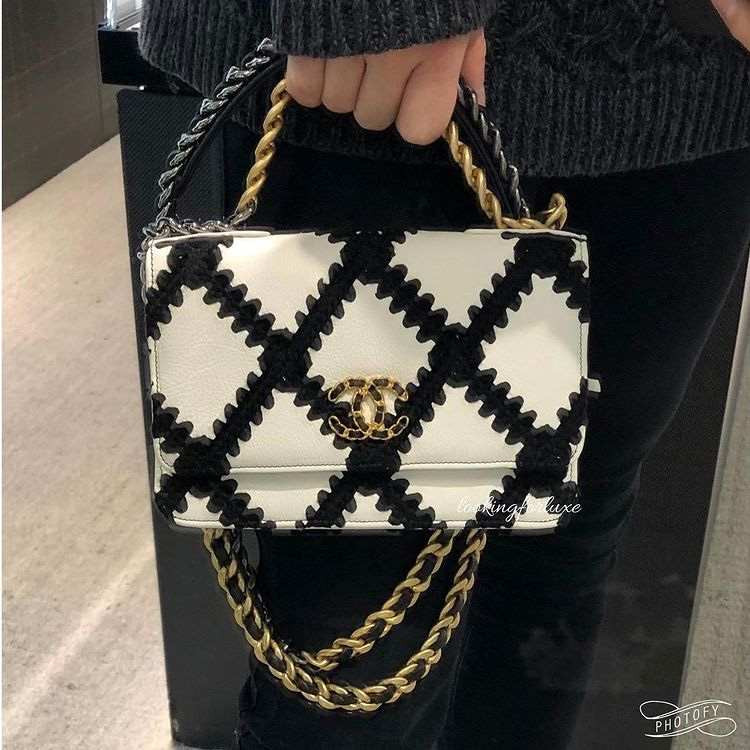 Chanel Large Stitch Wallet On Chain