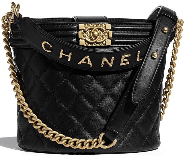 Chanel Boy Bucket Bag