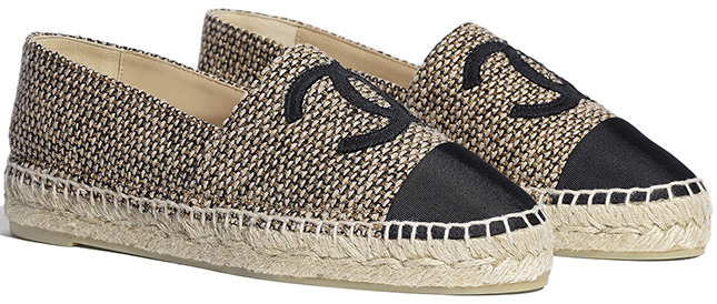 Chanel Espadrilles for Cruise Collection