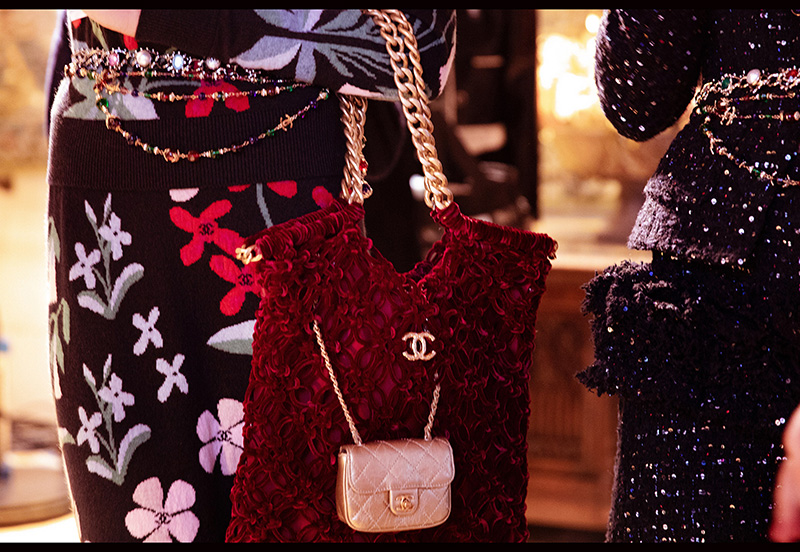 Chanel Pre Fall Runway Bag Collection