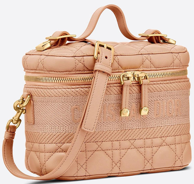 DiorTravel Cannage Stitching Vanity Case