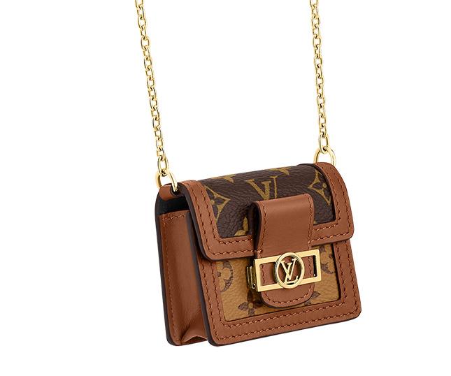 Louis Vuitton Dauphine Micro Bag For Earphones
