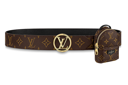 Louis Vuitton Spring Belt With Micro Bag thumb