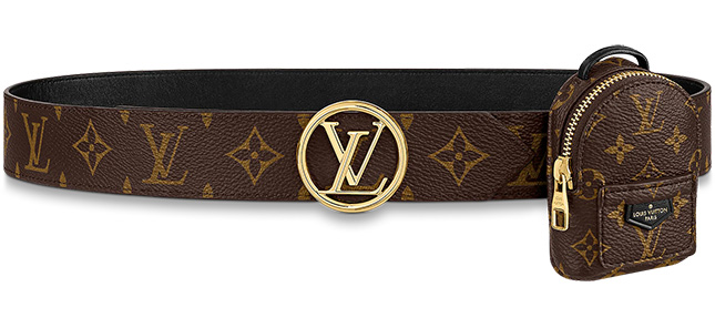 Louis Vuitton Spring Belt With Micro Bag