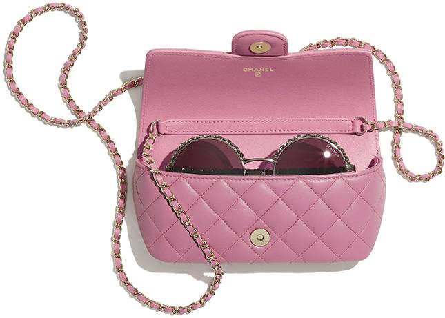 Chanel Classic Chain Glasses Case Bag