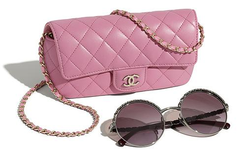 Chanel Classic Chain Glasses Case Bag thumb