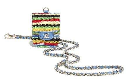Chanel Embroidered Multicolor Airpods Cases thumb