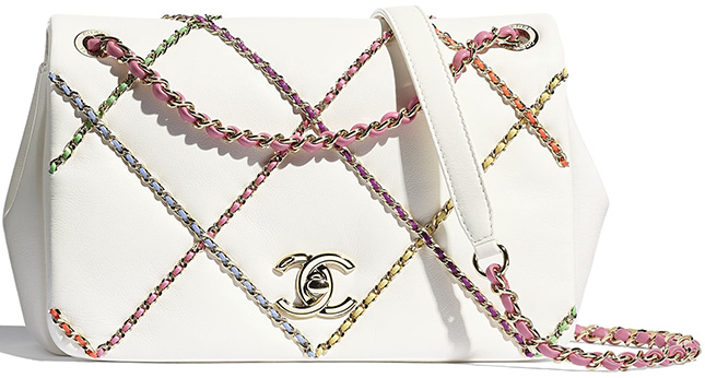 Chanel Entwined Chain Bag