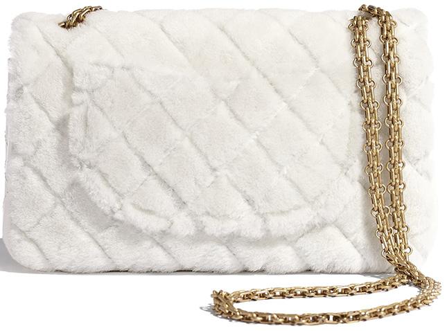 Chanel Shearling Lambskin Reissue . Bag