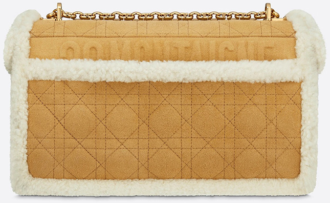 Dior Caro Shearling Bag