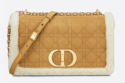 Dior Caro Shearling Bag thumb