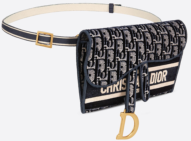 Dior Slim Saddle Pouch