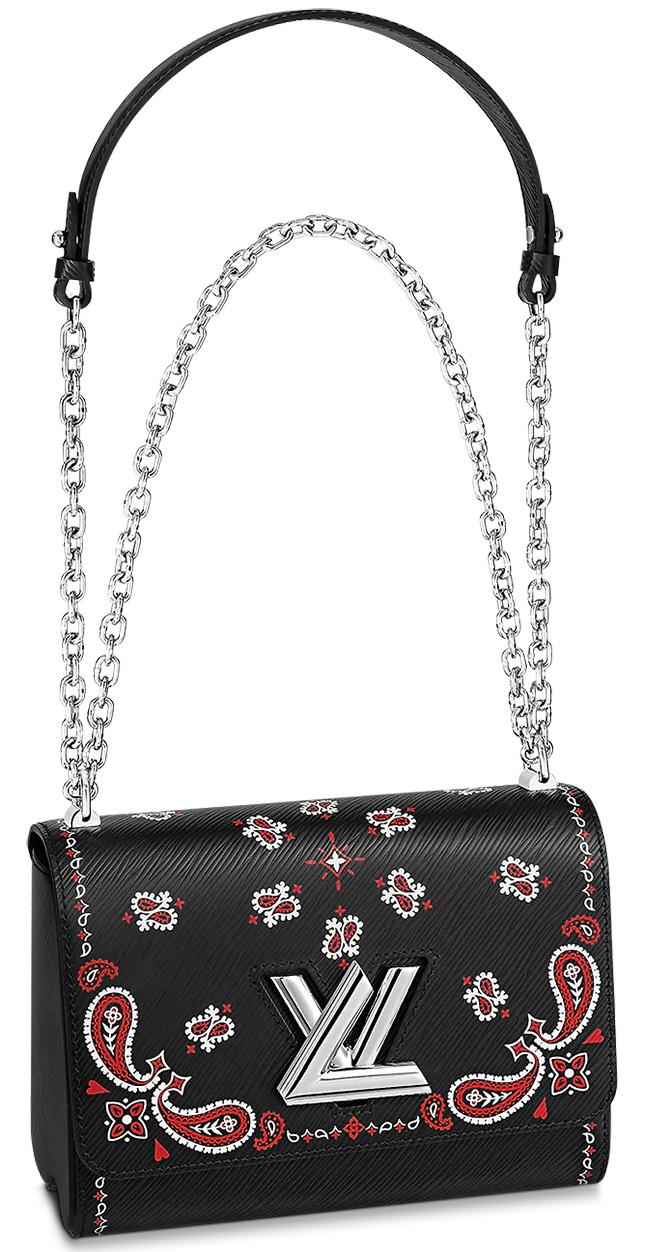 Louis Vuitton Classic Paisley Twist Bag