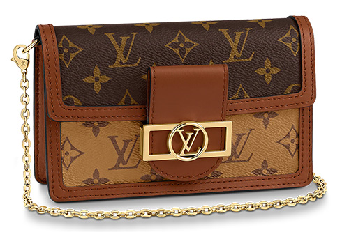 Louis Vuitton Dauphine Wallet On Chain thumb