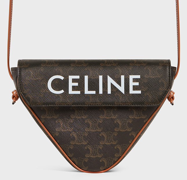 Celine Triangle Bag