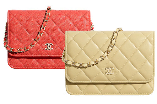 Chanel Mini Classic Quilted WOC Wallet On Chain thumb