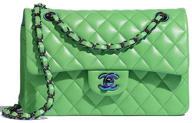 Chanel Rainbow Classic Flap Bag