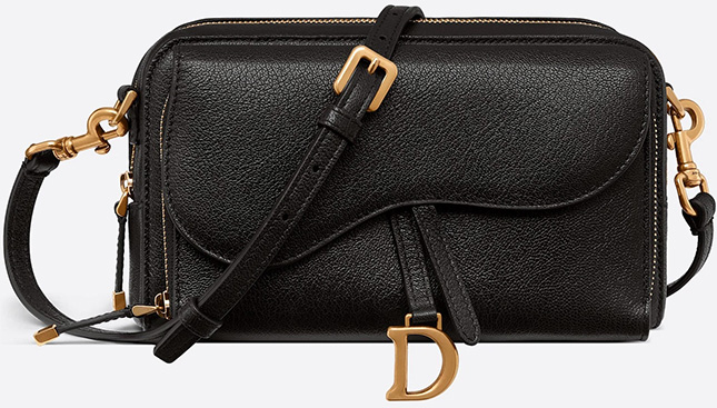 Dior Saddle Double Pouch