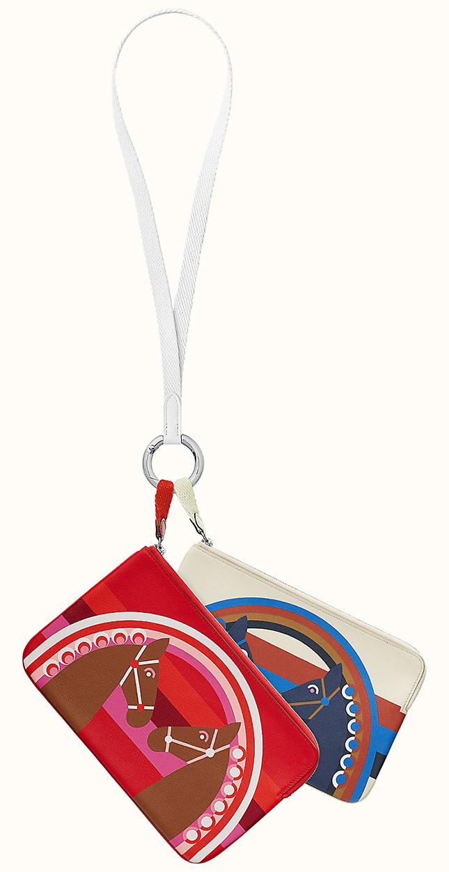 Hermes Carre Pocket Long pouch